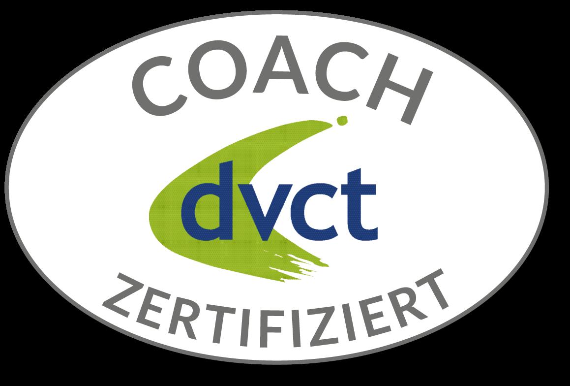 Abzeichen des dvct als zertifizierter Coach